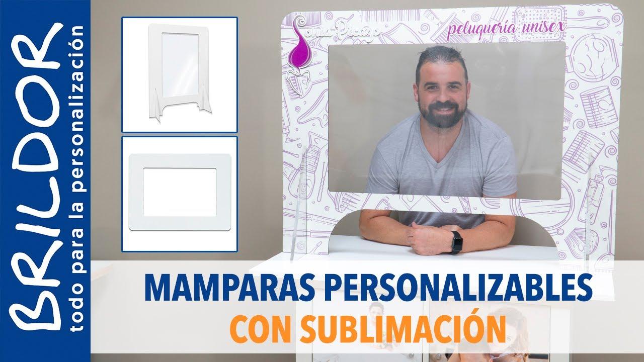 PERSONALIZA MAMPARAS PROTECTORAS CON SUBLIMACIÓN