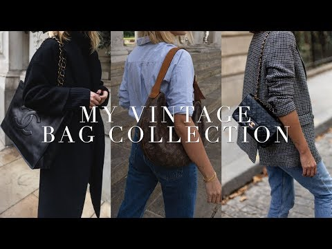 my-designer-vintage-bag-collection-&-buying-tips