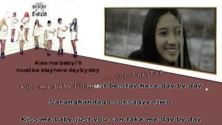 T ara   Day By Day Instrumental karaoke