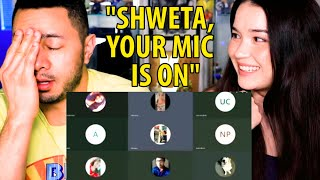 """SHWETA YOUR MIC IS ON"" Meme 
