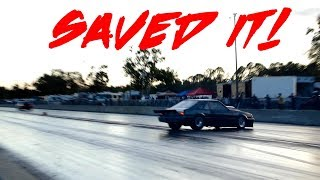 HE SAVED HIS MUSTANG! A1 DRIVING