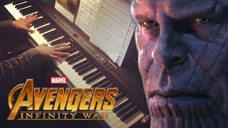Avengers Theme - Infinity War (Epic Build up Ver.) Piano Cover