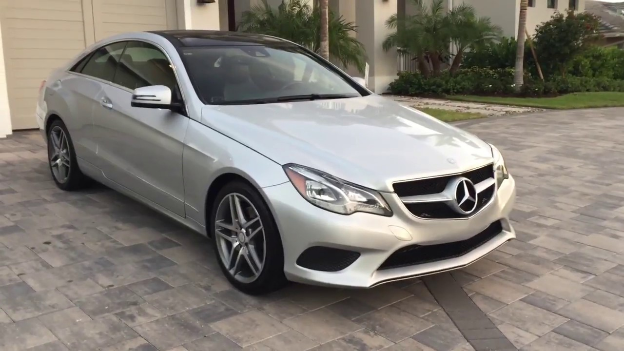 2017 Mercedes Benz E350 Coupe Amg Sport Review And Test Drive By Bill Auto Europa Naples