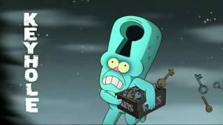 Gravity Falls - Weirdmaggedon Theme Song (Backwards)