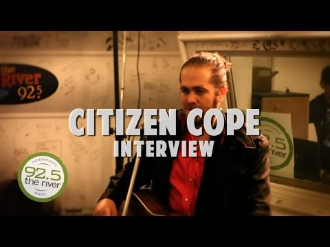 Citizen Cope Interview 2010