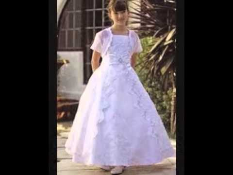 Communion Dresses For Teenagers - YouTube
