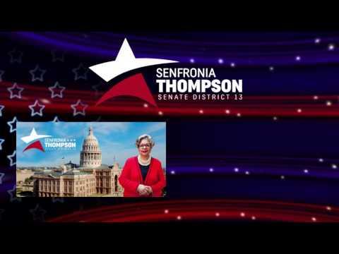 Senfronia Thompson for Senate District 13