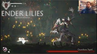 ENDER LILIES: Quietus of the Knights (PC) - Metroidvania de calidad    GAMEPLAY en Español