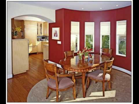 Burgundy and Brown Living Room Colors ideas - YouTube