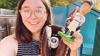 I found all of this Major League Baseball memorabilia in the TRASH!