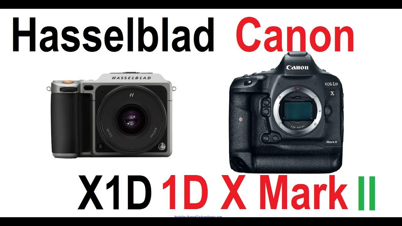 Hasselblad X1D vs Canon EOS-1D X Mark II