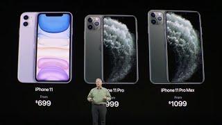 Tổng hợp sự kiện ra mắt bộ 3 iPhone 11 mới