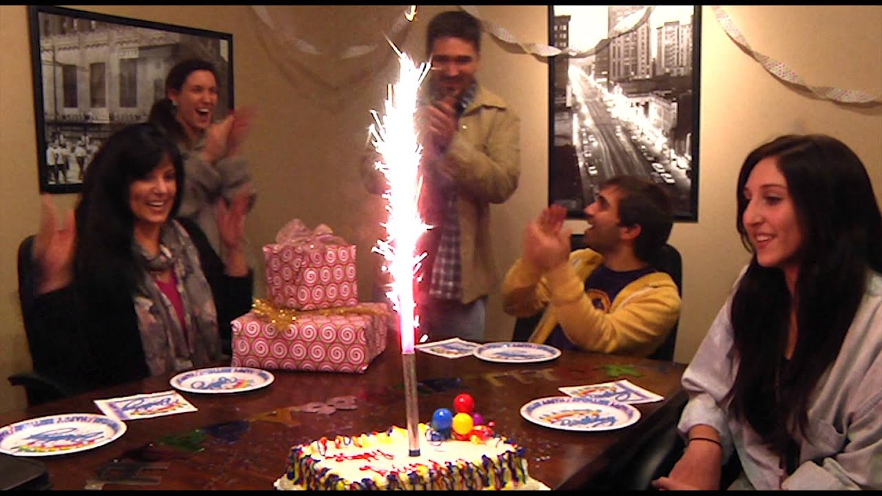 H 131A Smokeless Celebration Candle