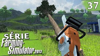 Farming Simulator 2013 - Cortando Árvores