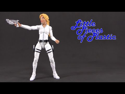 Sharon Carter Marvel Legends Red Skull Series Juguete Reseña Action Figure Toy Review