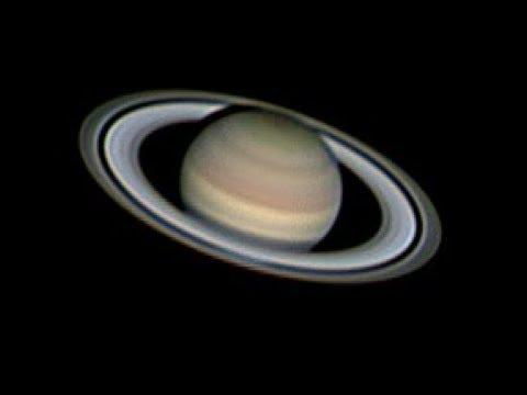 Telescope video of Saturn ASI224mc Orion 8 inch Newtonian telescope Ioptron Zeq25 mount