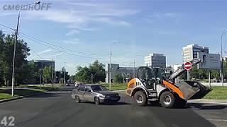 Дураки и дороги. Сборник безумных водителей #207