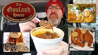 MUKBANG 먹방 | Goulash Soup & Cabbage Rolls • Christmas Traditions