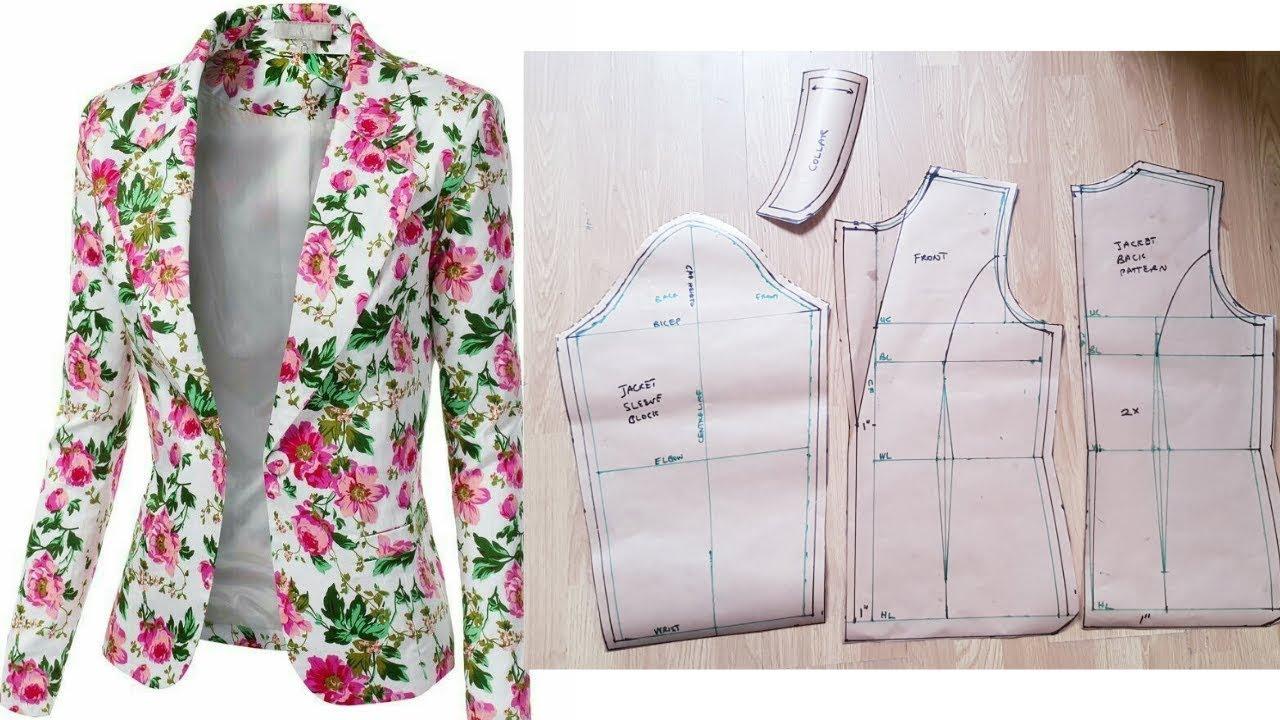 Jacket design pattern making software modesty.