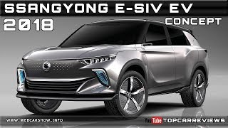 2018 Ssangyong E-Siv Ev Concept Review Rendered Price Specs Release Date
