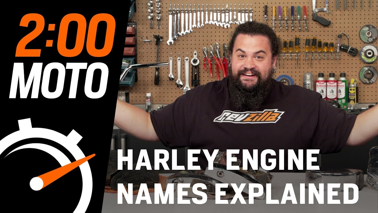 2 Minute Moto - Harley Engine Names Explained
