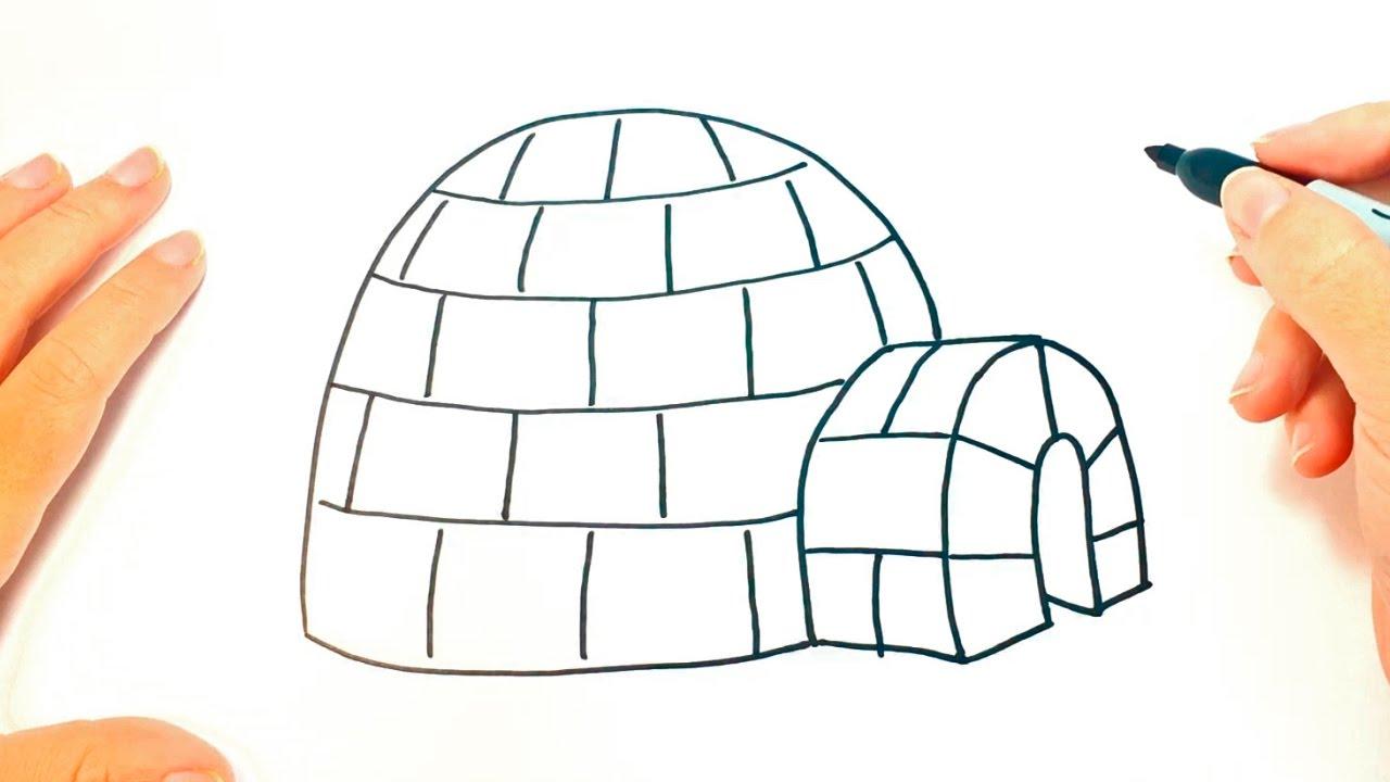 C mo dibujar un igl paso a paso dibujo f cil de igl for Comedor facil de dibujar