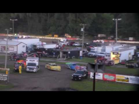 Modified Amain @ Hamilton County Speedway 07/01/17