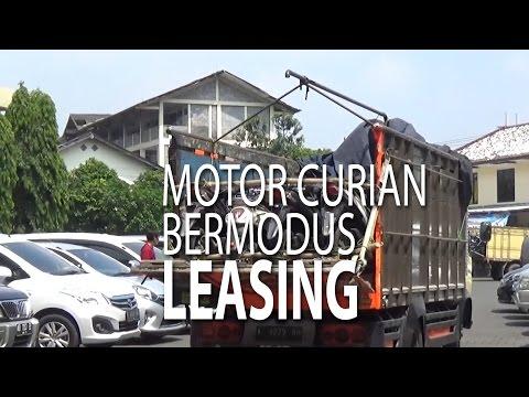 NET JATENG - Motor Curian Bermodus Leasing