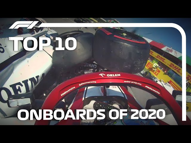 Top 10 Onboards Of The 2020 F1 Season!
