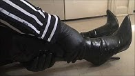 b74810988 ASMR  . Leather gloves frisk another pair of leather boots - Duration  14  minutes.