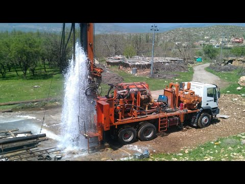Incredible Modern Fastest Borewell Drilling Machines - Amazing Construction Equipment Technology
