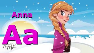 Phonics Song, ABCs with Disney characters!