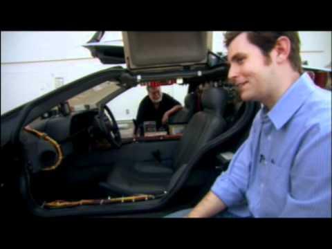 J Ryan, Sean Bishop DeLorean Time Machine -BTTF Bl...