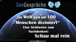 Wie man die Welt auch sehen kann - Dezimierung auf 100 Menschen