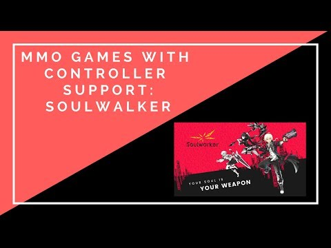 MMO Games With Controller Support: Soulworker