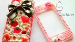 Luxury Custom Deco Phone Cases from Suga Rush Love - www.sugarushlo...