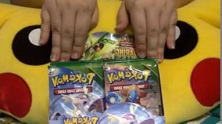 Pokemon Roaring Skiez Booster Pack Opening (3) {WIN CODE CARDS}