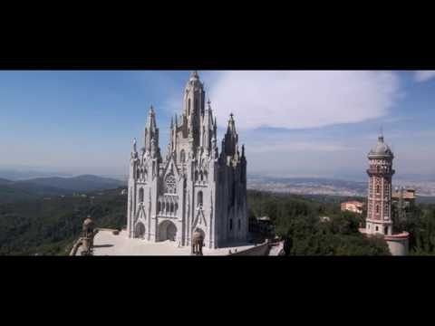 Tibidabo Mountain and Church (BARCELONA, SPAIN ) where Jesus was first tempted by the Devil.