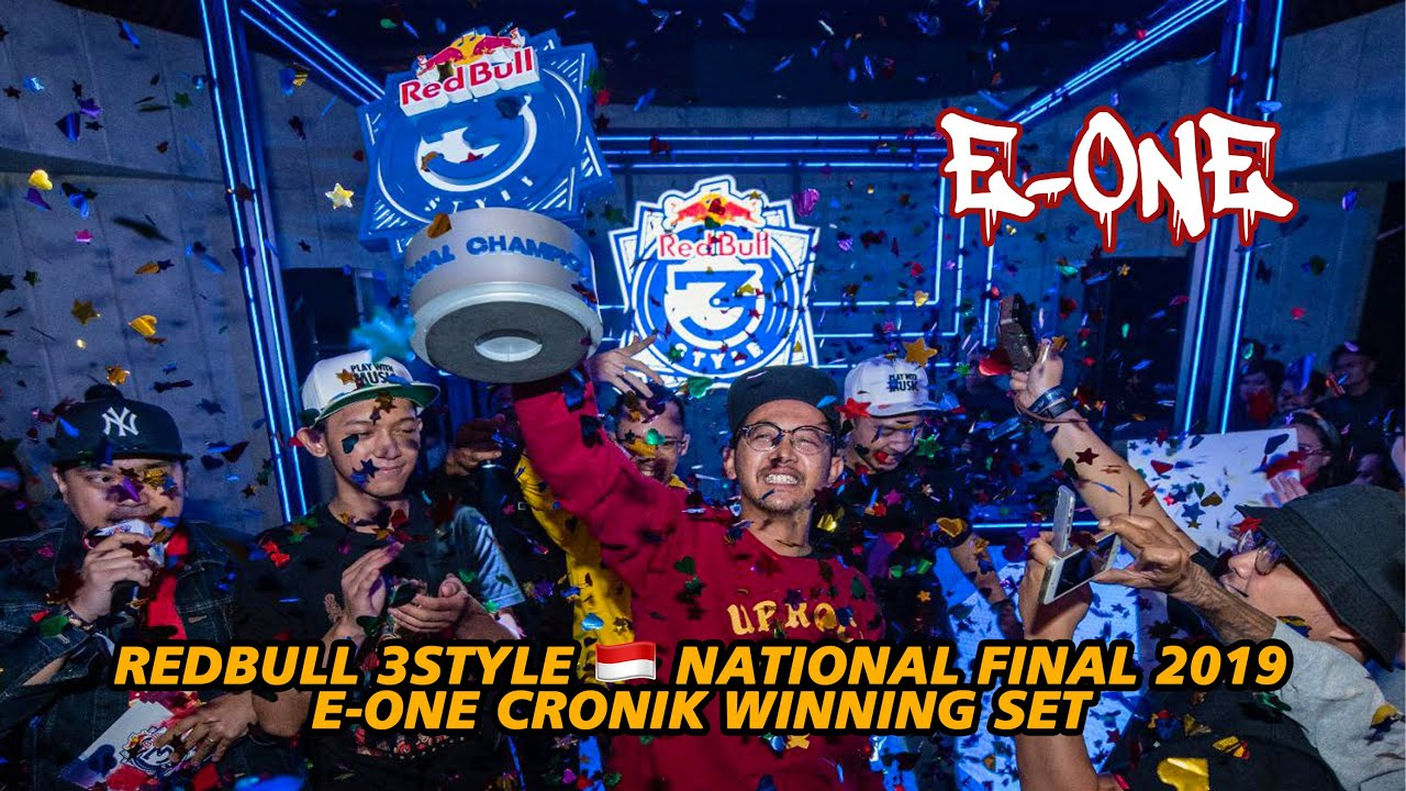 DJ E-ONE - 2019 Red Bull 3Style Indonesia Final Recap + Winning Set #3STYLE