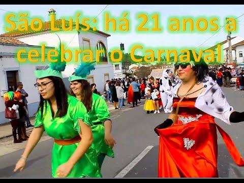 São Luís: há 21 anos a celebrar o Carnaval.