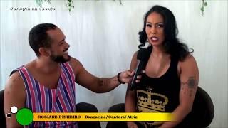 PROGRAMA NO PONTO - Rosiane Pinheiro Ex- dançarina da gang do Samba