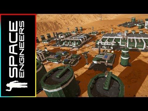 Port Argos R&D Site - Space Engineers