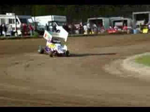 Whip City Speedway: 2 seater minisprint car.