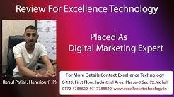 Got Job after Digital Marketing | Excellence Technology | Mohali Chandigarh