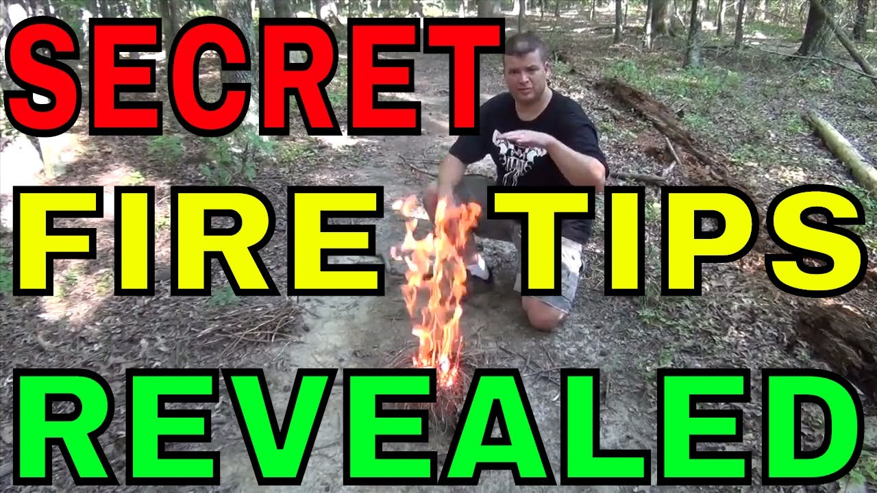 Survival Skills: How To Build A Camp Fire - Better, Faster, and Hotter!