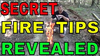 How To Build A Camp Fire - Better, Faster, and Hotter!