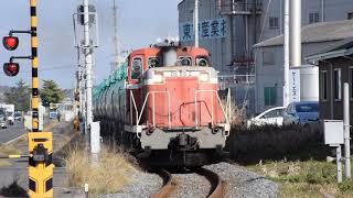 仙台臨海鉄道 仙台北港駅→仙台港駅 DE65 2+タキ1000