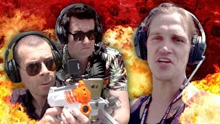 Hands-on with Recoil AR Laser Tag! IGN vs Jason Mewes