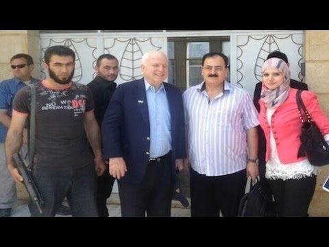 Did McCain Go to Syria to Sabotage US Russia Negotiations?