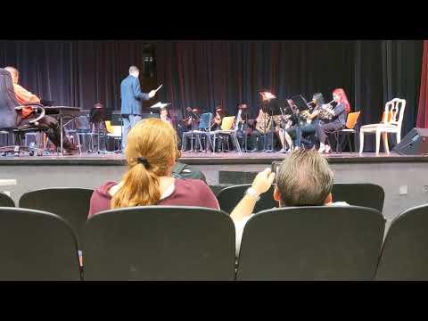 Coral Springs High School Brass Choir Feb 22,2020.